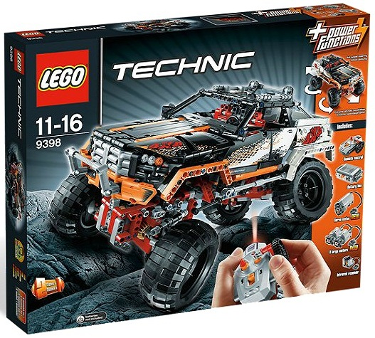 LEGO Technic 4X4 Crawler 9398 - Toysnbricks
