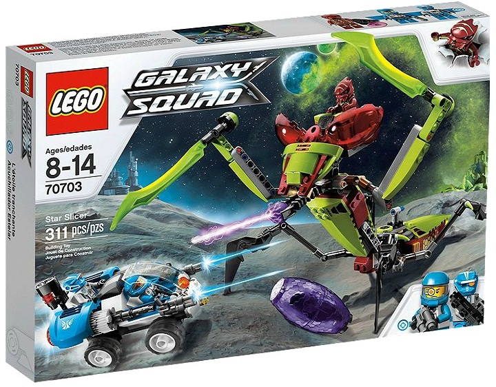 LEGO Galaxy Squad Star Slicer 70703 - Toysnbricks