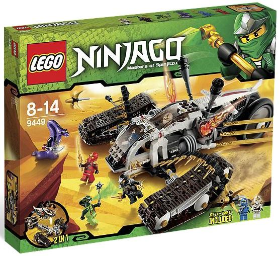 LEGO Ninjago Ultra Sonic Raider 9449 - Toysnbricks