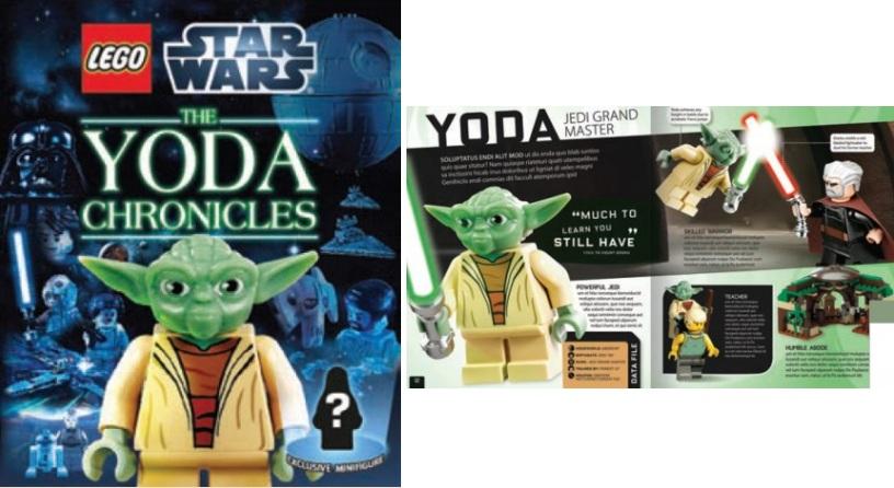 LEGO Star Wars The Yoda Chronicles & LEGO Minifigures Character ...