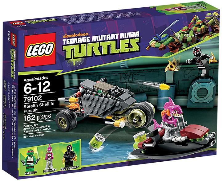 LEGO Teenage Mutant Ninja Turtles Stealth Shell in Pursuit 79102 - Toysnbricks