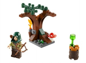 LEGO The Hobbit Mirkwood Elf Guard 30212 - Toysnbricks