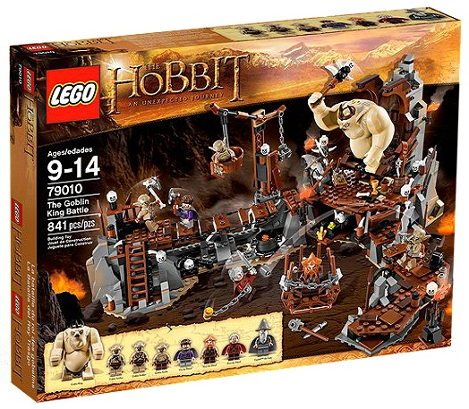 LEGO The Hobbit The Goblin King Battle 79010 - Toysnbricks