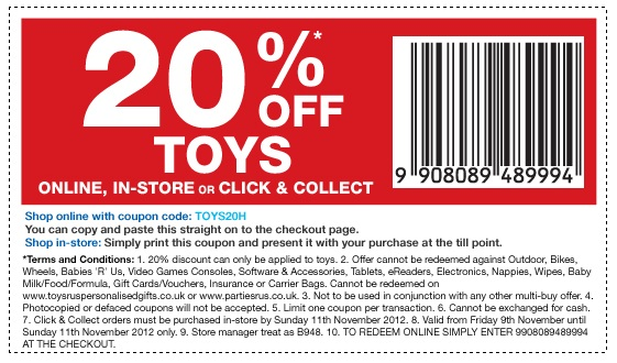 Lego Toys R Us Coupon 2017 Printable : Uk toysrus off lego sale nov toys n bricks