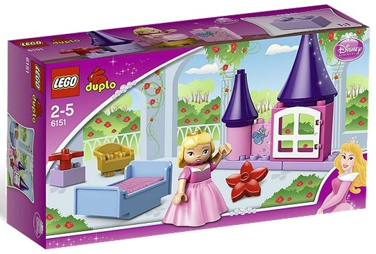 LEGO Duplo 6151 Sleeping Beauty's Room - Toysnbricks