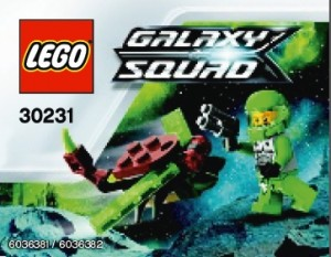 LEGO Galaxy Squad Space Insectoid 30231