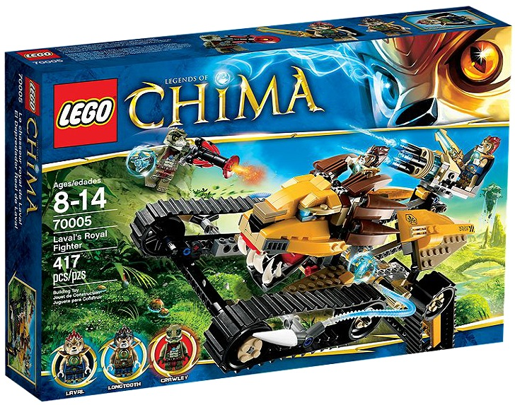 LEGO Legends of Chima Laval's Royal Fighter 70005 - Toysnbricks