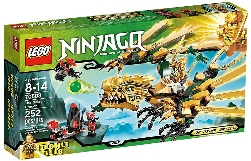 LEGO Ninjago The Golden Dragon 70503 - Toysnbricks
