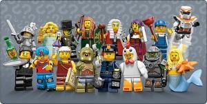 LEGO Series 9 Minifigures 71000