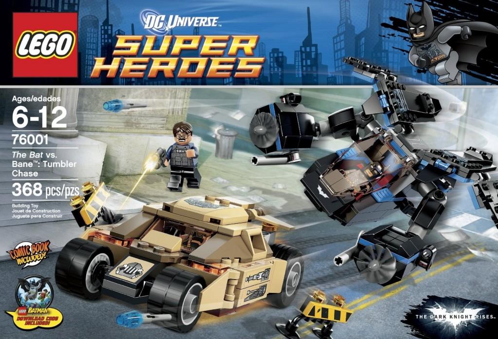 LEGO Superheroes The Bat vs. Bane Tumbler Chase 76001 - Toysnbricks