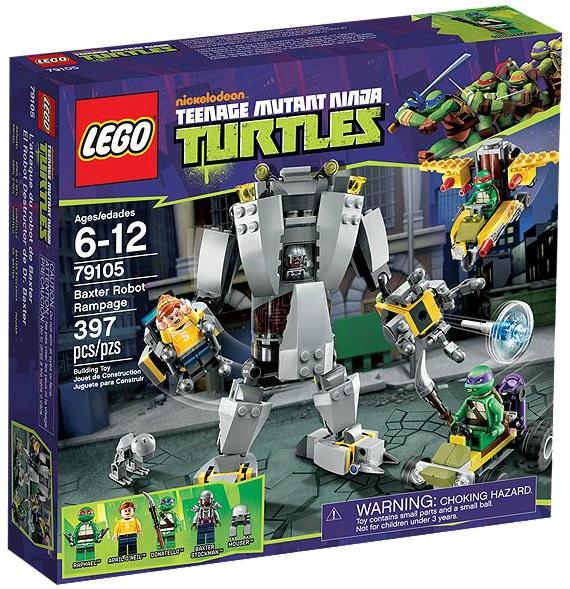 LEGO Teenage Mutant Ninja Turtles Baxter Robot Rampage 79105 - Toysnbricks