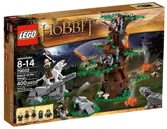 LEGO The Hobbit Attack of the Wargs 79002 - Toysnbricks
