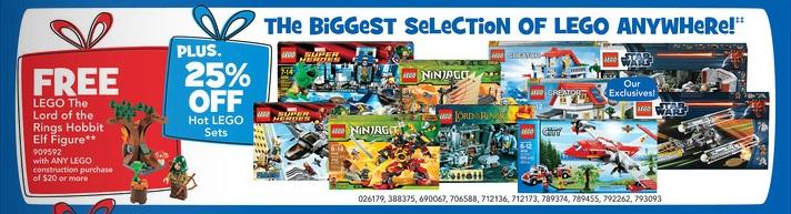 ToysRUs December 2012 LEGO Sale