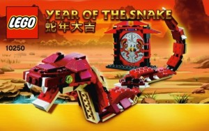 LEGO 10250 Year of the Snake Set (2013)