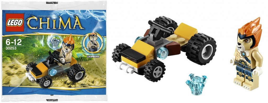 LEGO 30253 Legends of Chima Leonidas' Jungle Dragster - Toysnbricks