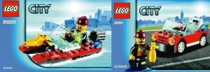 LEGO City 2013 Polybag Sets (30220 30221)