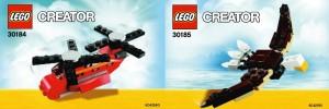 LEGO Creator 2013 Polybag Sets (30184 30185)