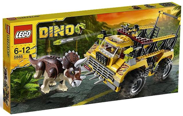 LEGO Dino Triceratops Trapper 5885 - Toysnbricks