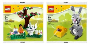 LEGO Easter 2013 Polybag Sets 40052 40053 - Toysnbricks