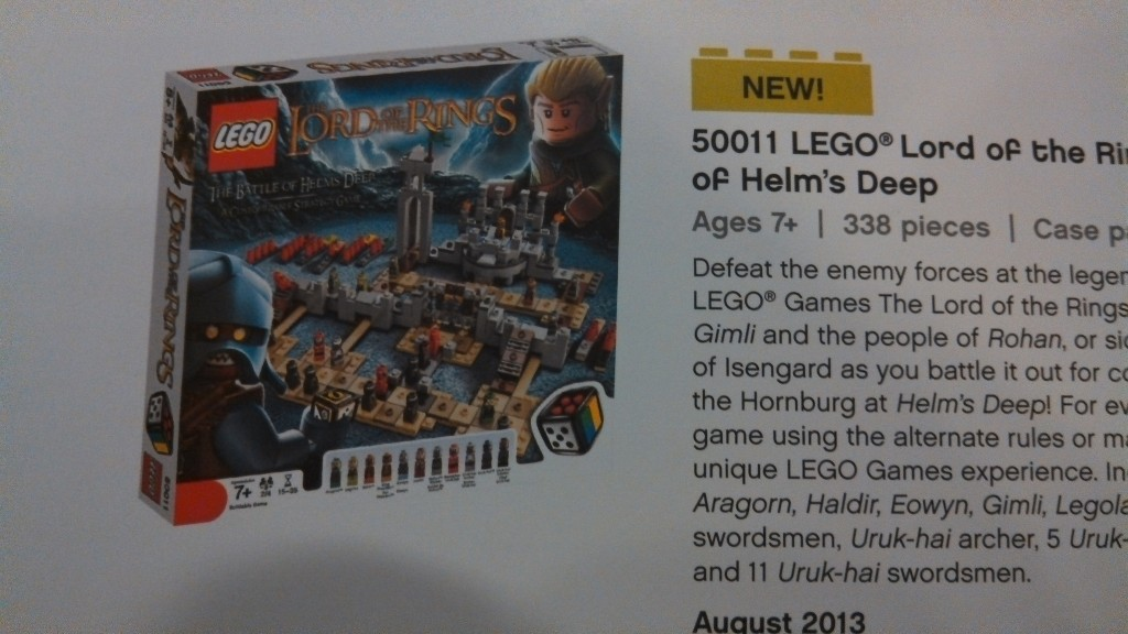 LEGO Games Lord of the Rings 50011 Battle of Helm's Deep (Pre)