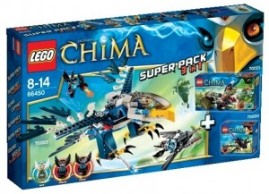 LEGO Legends of Chima 66450 Super Pack 3 in 1 - Toysnbricks