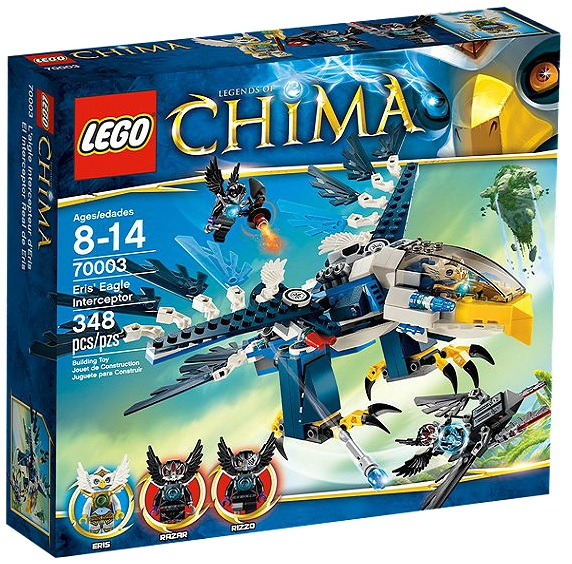 LEGO Legends of Chima Eris' Eagle Interceptor 70003 - Toysnbricks