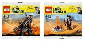 LEGO Lone Ranger 2013 Polybag Sets (30260 30261) - Toysnbricks