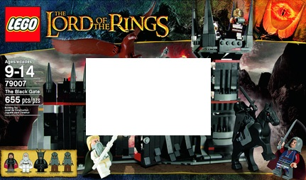 LEGO Lord of the Rings 79007 The Black Gate