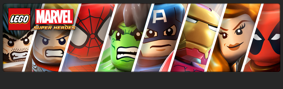 LEGO Marvel Superheroes Video Game Banner