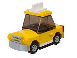 LEGO NYC Taxi Cab 40025 Polybag Set - Toysnbricks