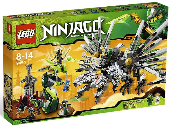LEGO Ninjago Epic Dragon Battle 9450 - Toysnbricks