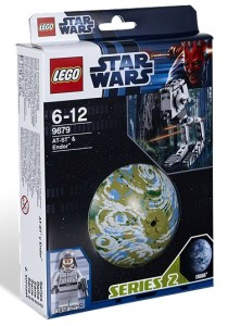 LEGO Star Wars 9679 AT-ST & Endor Planet Set - Toysnbricks