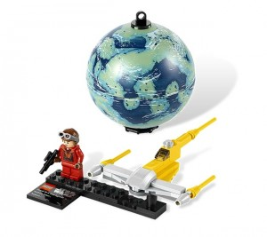 LEGO Star Wars Naboo Starfighter & Naboo 9674 - Toysnbricks
