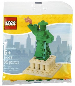 LEGO Statue of Liberty 40026 Polybag Set - Toysnbricks