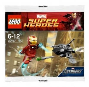 LEGO Superheroes 30167 Ironman Minifigure Polybag Set - Toysnbricks