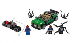 LEGO Superheroes 76004 Spider-Man Spider-Cycle Chase - Toysnbricks