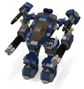 [MOC] Counterblast Mech, Galaxy Patrol spec