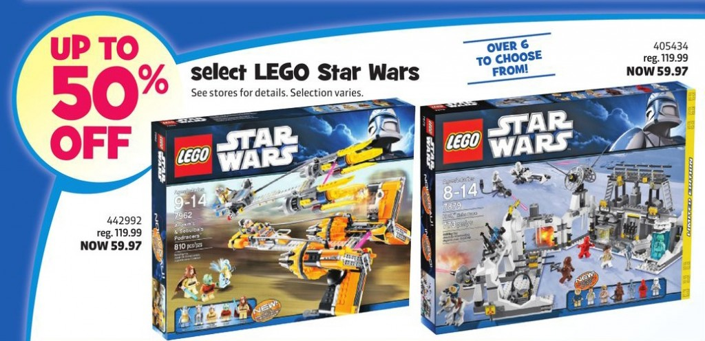ToysRUs Canada January 2013 LEGO Sale