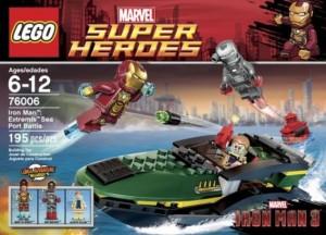 LEGO 76006 Iron Man Extremis Sea Port Battle (Marvel Superheroes) - Toysnbricks