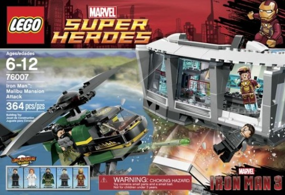 LEGO Marvel Super Heroes Iron Man: Malibu Mansion Attack Reviews
