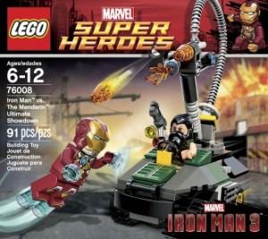 LEGO 76008 Iron Man vs. The Mandarin Ultimate Showdown (Marvel Superheroes) - Toysnbricks