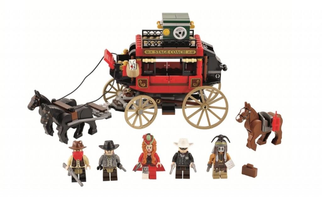 LEGO Lone Ranger 79108 Stagecoach Escape (Pre)