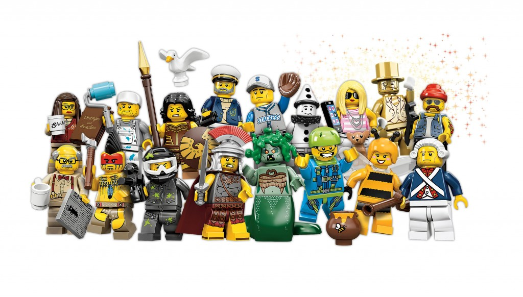 LEGO Series 10 Minifigures 71001 (High Resolution)
