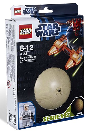 LEGO Star Wars 9678 Twin-Pod Cloud Car & Bespin Planet Series 2 - Toysnbricks