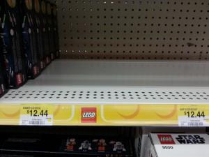 Wal-Mart Canada 2013 LEGO Star Wars Planet Sets