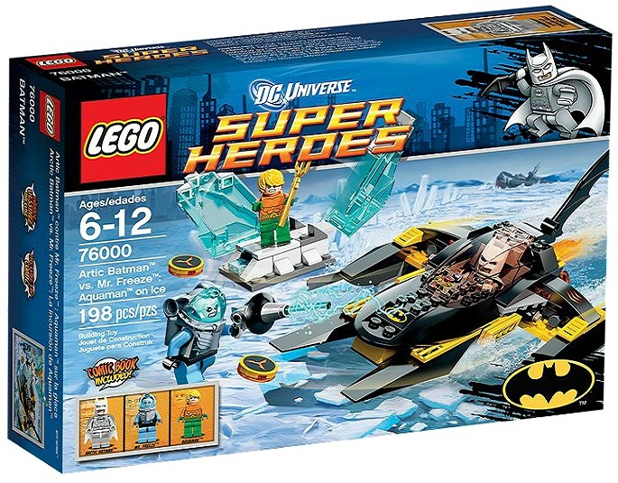 LEGO 76000 Superheroes Arctic Batman vs. Mr. Freeze Aquaman on Ice - Toysnbricks