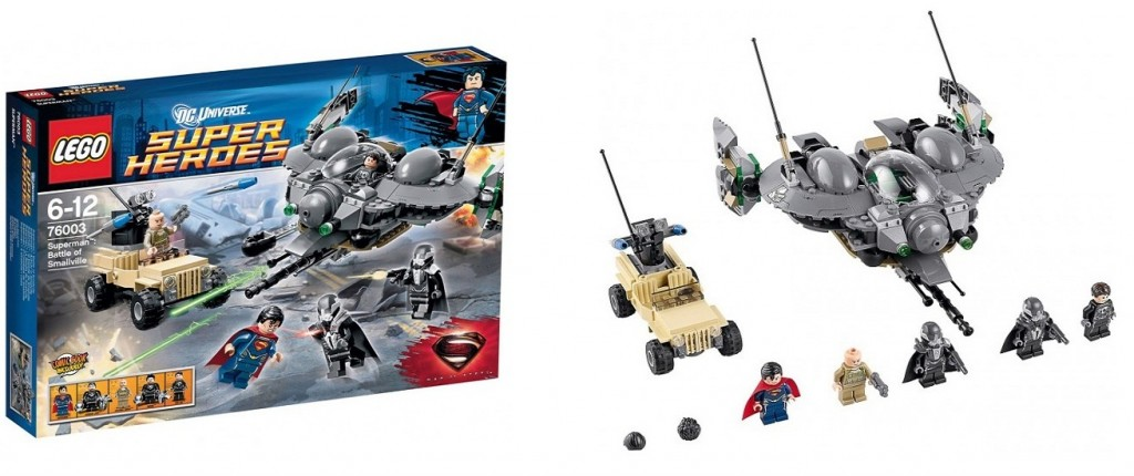 LEGO 76003 Super Heroes Superman Battle of Smallville - Toysnbricks
