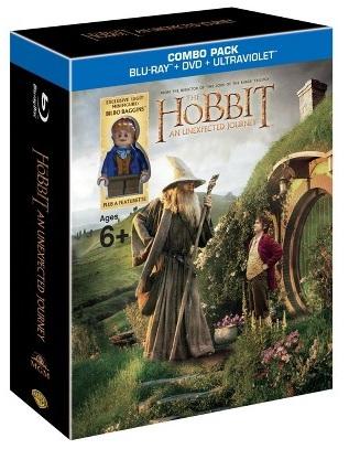 LEGO Bilbo Minifigure The Hobbit An Unexpected Journey DVD & Blu Ray