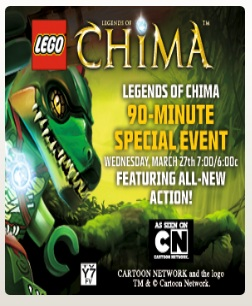 LEGO Chima Movie March 2013 on Cartoon Network