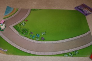 LEGO Friends Playmat Easter 2013 Event at ToysRUs USA